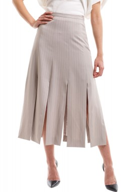 XVI: Chopped skirt beige