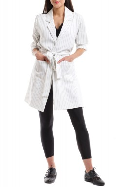 XIII: Over-sized blazer off-white