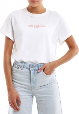 White THOUQI T-Shirt