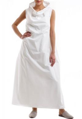 I: Collar dress off-white