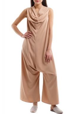 IV: Nude pink jumpsuit
