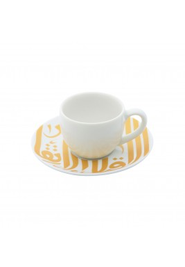 Ghida Espresso Cup - Gold