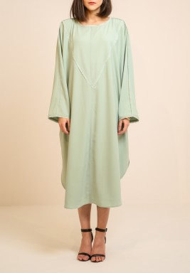 Light green cape