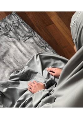 Velvet prayer set -silver