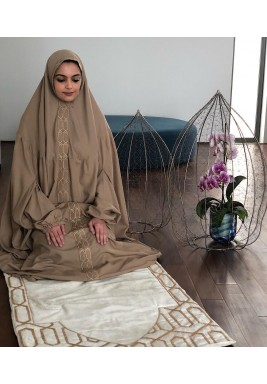 Velvet prayer set -beige