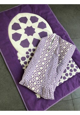 Moroccan Prayer Set Purple