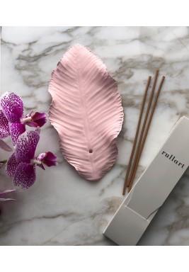 Pink Ceramic Leaf