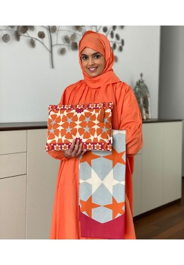 Orange Scarf Travel Prayer Set
