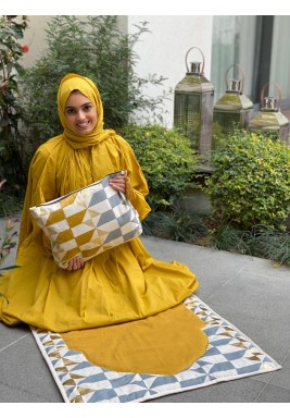Yellow Scarf Travel Prayer Set