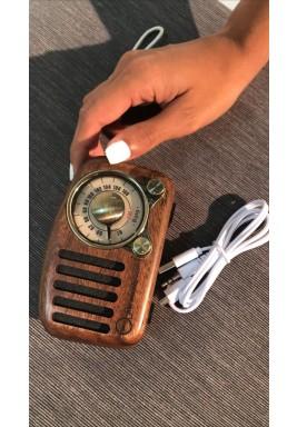 Wood Vintage Speaker Radio