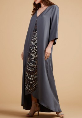 Front Ropes detailed kaftan