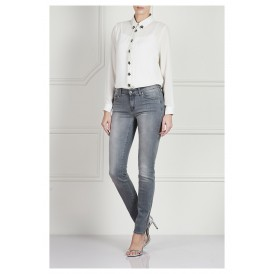 Midrise skinny jeans - Grey