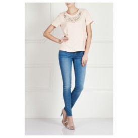 Midrise skinny jeans - Blue