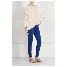 Blue High-Rise Skinny Jeans
