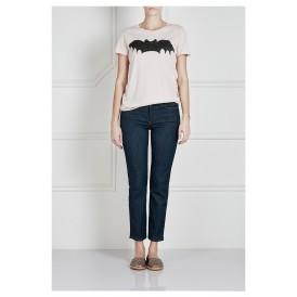 Bat Print T-shirt