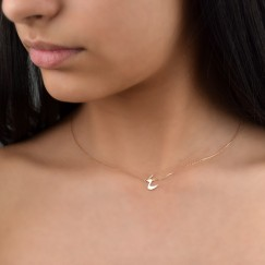 Arba'a  Necklace (Rose gold)
