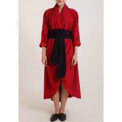 Wrap it around me Dress Red