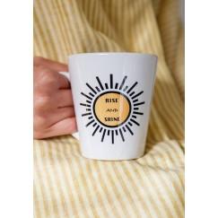 Rise & Shine Latte Mug