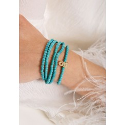 Jeen Diamond Bracelet  Turquoise