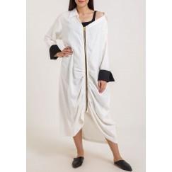 Zip fastening shirt Dress