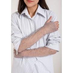 لفافة ذراع باللون الفضي