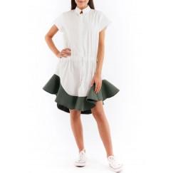 Peplum Shirt dress