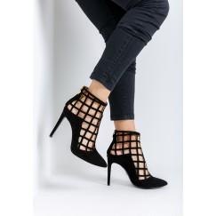 حذاء دانة الأسود الشبكي
