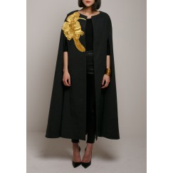 The golden bird bisht Grey