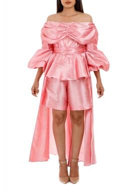 جمبسوت بيلا الوردية القصيرة