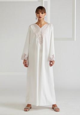 Trimmed Cotton Dress