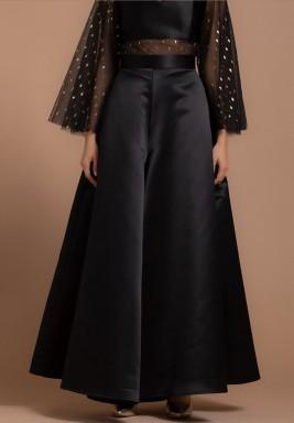 Wide Legged Satin Silk Pants
