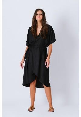 فستان ملفوف