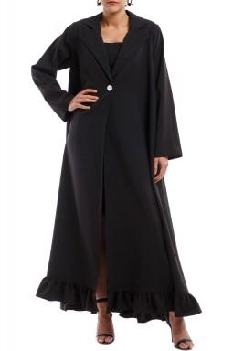 فستان عباية أسود