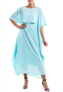 فستان كومفي مي السماوي
