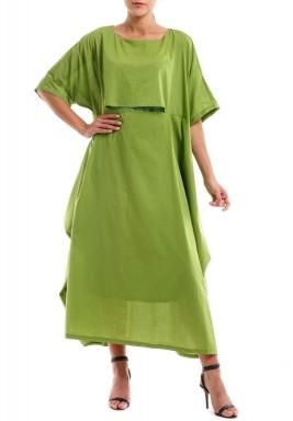 فستان كومفي مي الأخضر