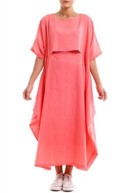 فستان كومفي مي الوردي