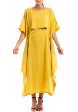 فستان كومفي مي الأصفر