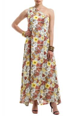 فستان فلورا أثيني
