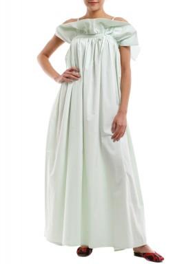 فستان ورقة النعناع