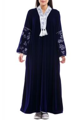 قفطان داريا الأزرق الملكي