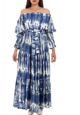 فستان ميكونوس الأزرق