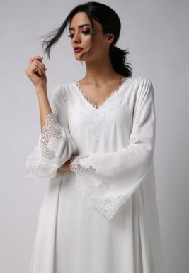 فستان إينجل الملائكي مهدب