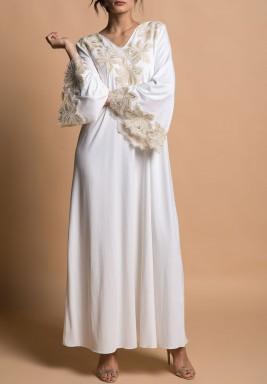 فستان ماجنوليا ذهبي