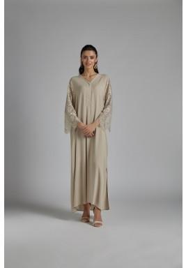 أنجيلا ثوب امسية استقبال بيج