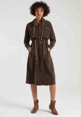 BROWN CORDUROY COAT