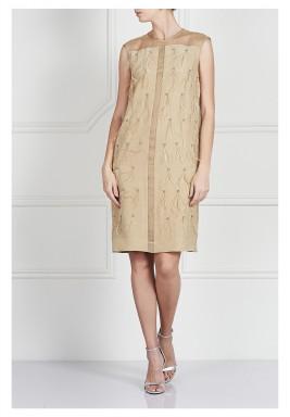 فستان مزين بريش من أمدي