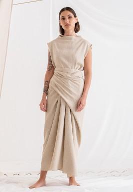 فستان بيج ماكسي نمط لف