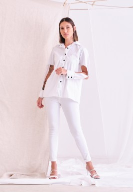 White Hit Shirt