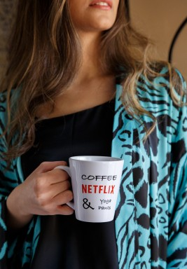 Netflix Latte Mug