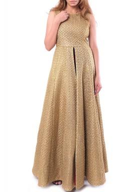 فستان جايبور - ذهبي
